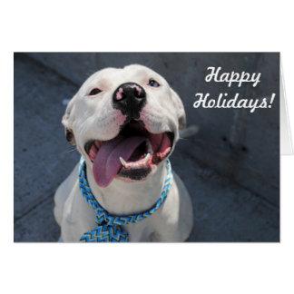 """Holiday Card """"So happy"""""""