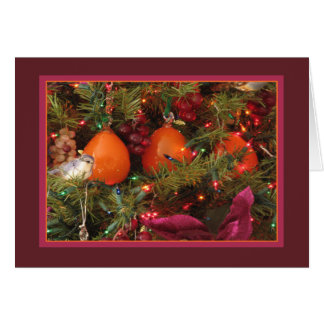 Holiday Card: Three Persimmons Card
