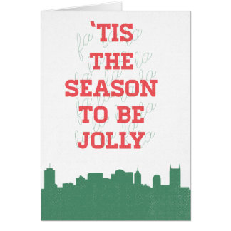 Holiday Card - 'Tis The Season to be Jolly