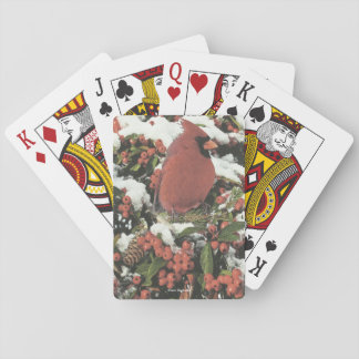Holiday Cardinal Playing Cards