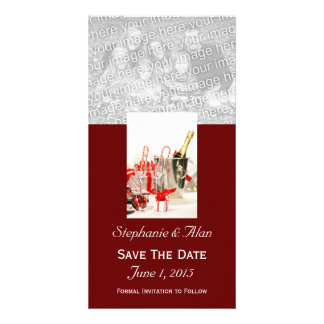 Holiday Celebration  Save The Date PhotoCards Personalized Photo Card