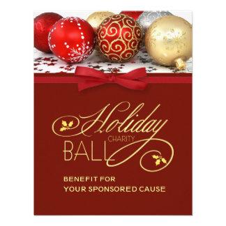 Holiday Charity Event Invitation