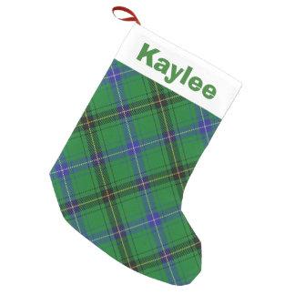 Holiday Charm Clan Henderson Tartan Small Christmas Stocking