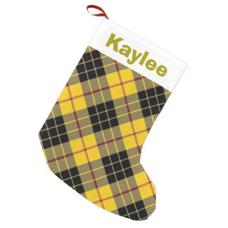 Holiday Charm Clan MacLeod of Lewis Tartan Small Christmas Stocking