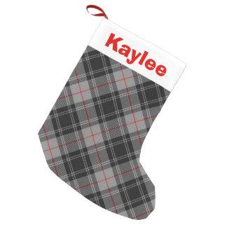 Holiday Charm Clan Moffat Tartan Small Christmas Stocking