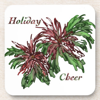 Holiday Cheer Beverage Coasters