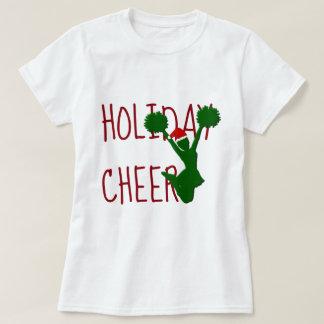 Holiday Cheer Cheerleader Christmas Spirit T-Shirt