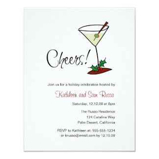 Holiday Cheers Invitation