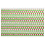 Holiday Christmas Frog Pattern Fabric