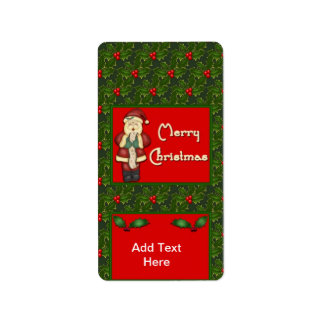 Holiday Christmas Miniature Candy bar wrappers