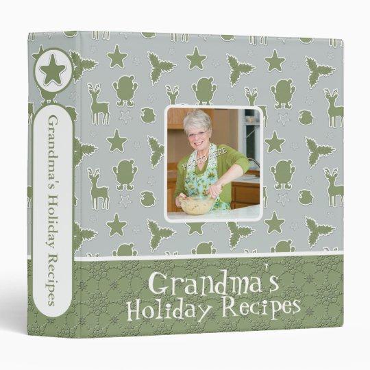 Holiday Christmas Recipes | Holiday Photo Binder