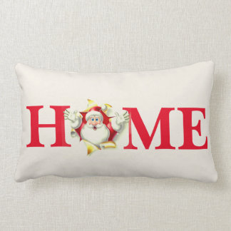 Holiday Christmas Santa Throw Pillow