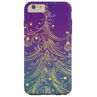 holiday Christmas tree Tough iPhone 6 Plus Case