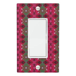 Holiday Colors Kaleidoscope Light Switch Cover