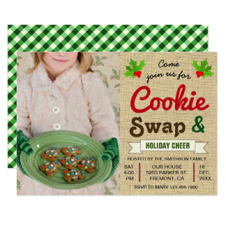 Holiday Cookie Exchange | Christmas Party Invite