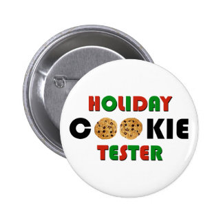 Holiday Cookie Tester Button