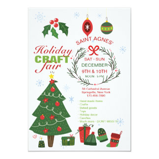 Holiday Craft Fair Announcement