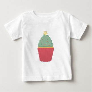 Holiday Cupcake Baby T-Shirt