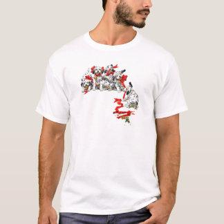 Holiday Dalmatian Pups T-Shirt