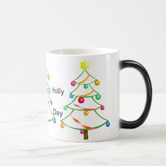Holiday Decorated Trees Christmas Humourous Mug