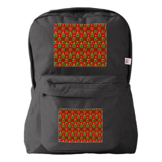 Holiday Decorative Squares Backpack