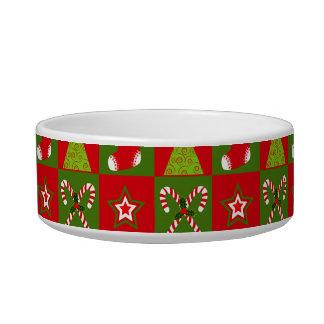 Holiday Decorative Squares Bowl