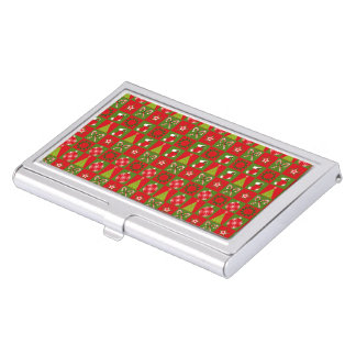 Holiday Decorative Squares Business Card Holder