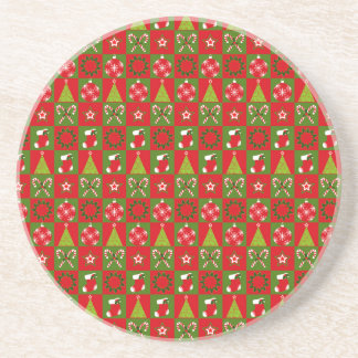 Holiday Decorative Squares Coaster