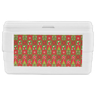 Holiday Decorative Squares Cooler