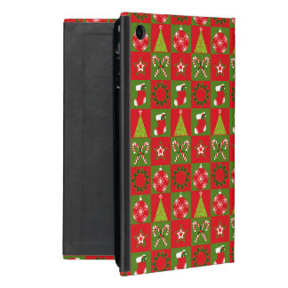 Holiday Decorative Squares Cover For iPad Mini