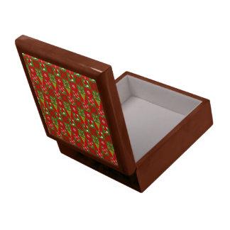Holiday Decorative Squares Gift Box