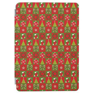 Holiday Decorative Squares iPad Air Cover