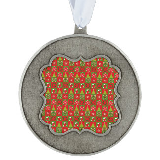 Holiday Decorative Squares Ornament