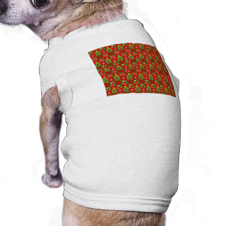 Holiday Decorative Squares Pet T Shirt