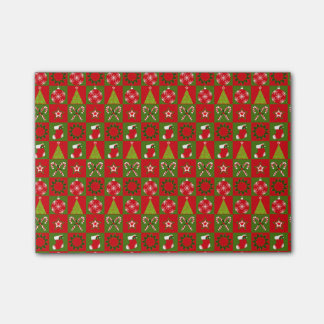 Holiday Decorative Squares Post-it Notes