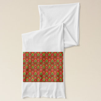 Holiday Decorative Squares Scarf