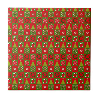 Holiday Decorative Squares Tile