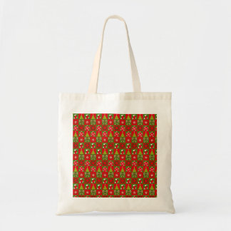 Holiday Decorative Squares Tote Bag