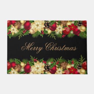 Holiday Door Mat