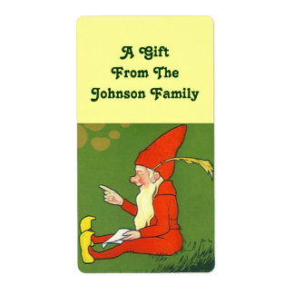 Holiday Elf Gift Giving tags Christmas Labels