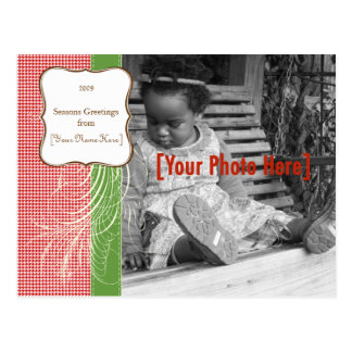 Holiday Fancy Photo Card