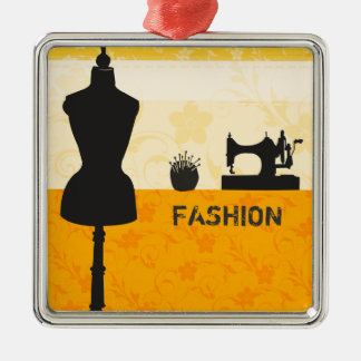 Holiday Fashion Crafts Sewing Essentials Metal Ornament