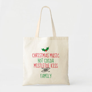 Holiday Favorite Things Budget Tote