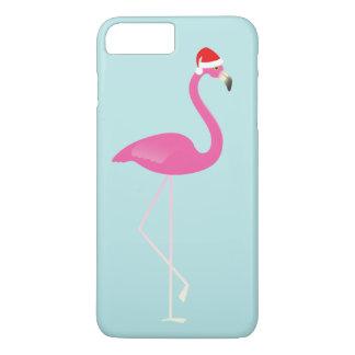 Holiday Flamingo iPhone 7 in turquoise iPhone 8 Plus/7 Plus Case