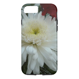 Holiday Flowers and Snow I Christmas Floral iPhone 8/7 Case
