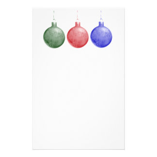 Holiday Flyer - Christmas Ornaments