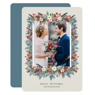 Holiday Frame Photo Card