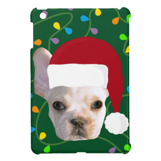 Holiday Frenchie iPad Mini Covers