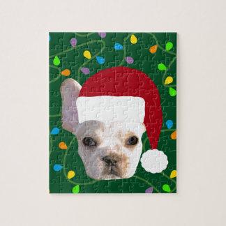 Holiday Frenchie Jigsaw Puzzle