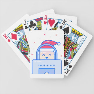 Holiday Gamer Bicycle Playing Cards